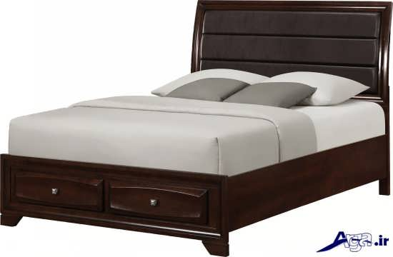 تخت خواب ساده