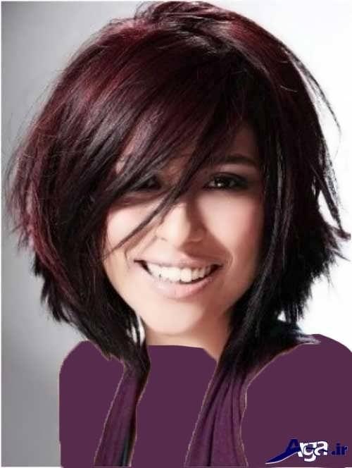 رنگ موی مشکی گیلاسی