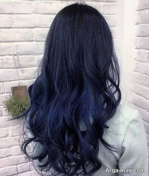 رنگ مو مشکی ایده آل با تناژ سرد