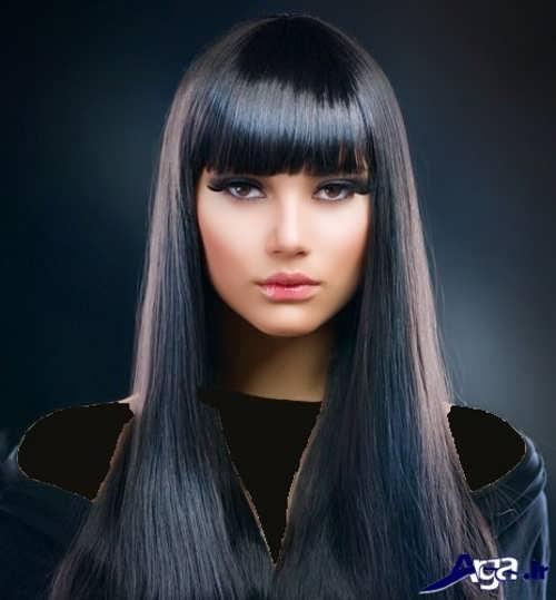 رنگ موی خاکستری مشکی