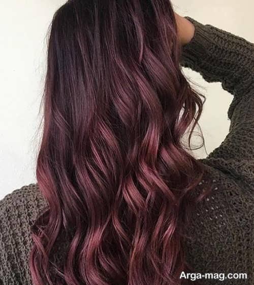 رنگ مو مشکی منحصر به فرد با تناژ گرم