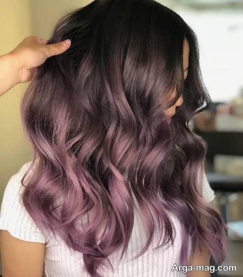 رنگ مو مشکی خاص با تناژ گرم