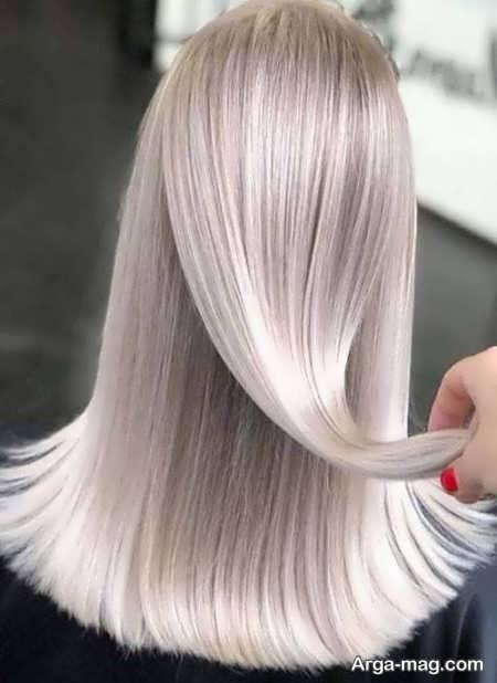 تصاویری از رنگ موهای استخوانی