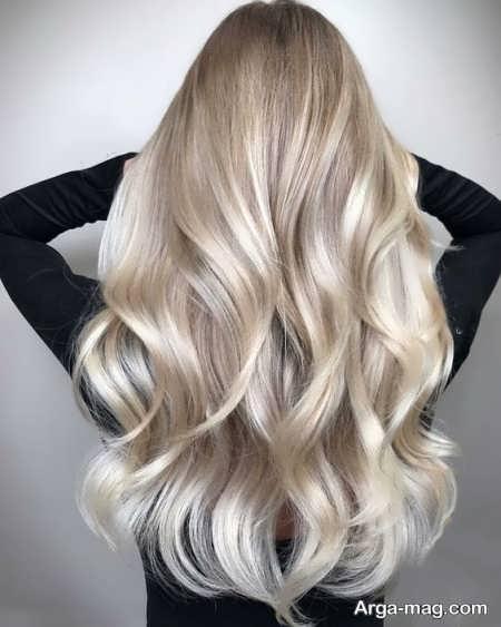 مدل رنگ موی استخوانی
