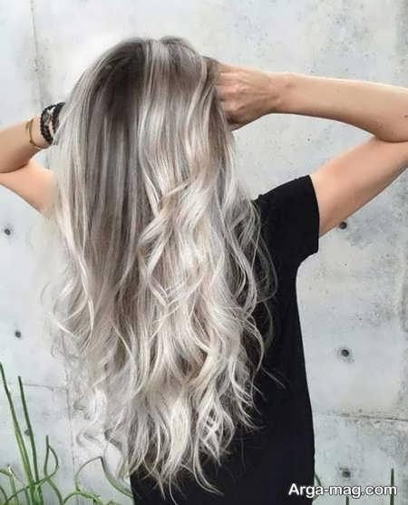 رنگ مو استخوانی زیبا
