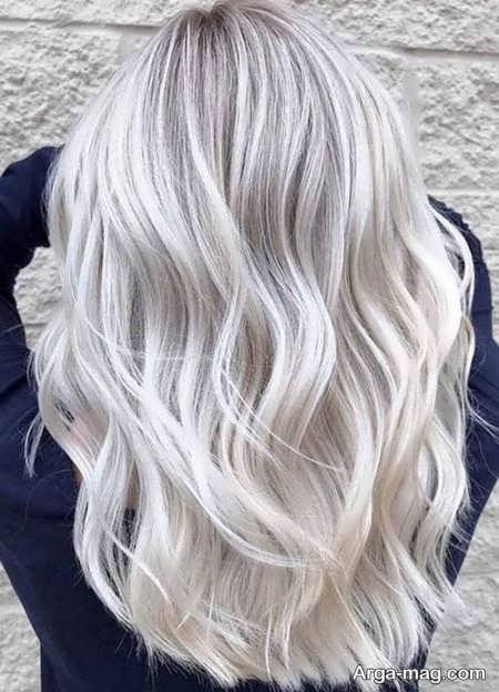 انواع رنگ موهای استخوانی