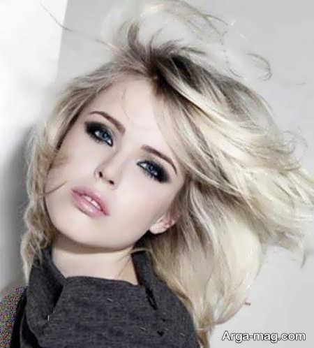 رنگ مو استخوانی دخترانه