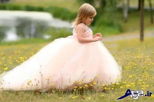 مدل لباس عروس زیبا و جدید برای دختر بچه ها