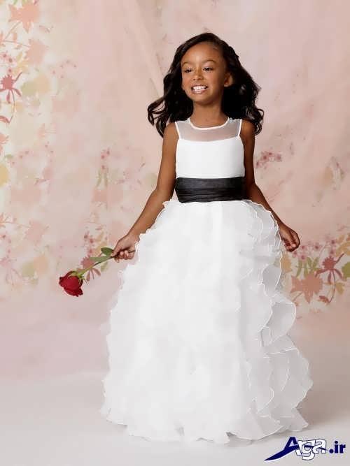 مدل های متنوع لباس عروس بچه گانه