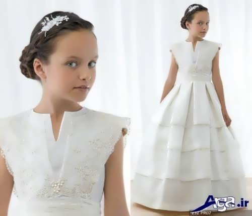 لباس عروس بلند بچه گانه
