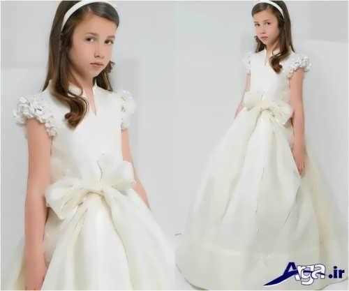 لباس عروس پفی بچه گانه