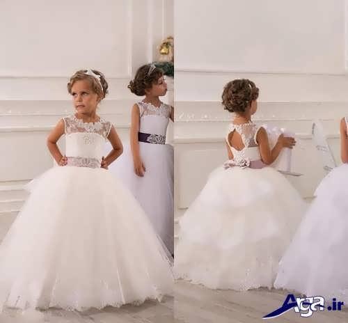 انواع مدل های جدید لباس عروس کودک