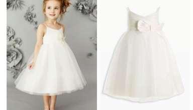 لباس عروس کودک با طرح های مد روز