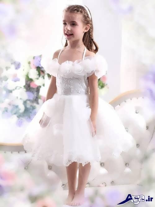 مدل لباس عروس شیک و مدرن برای کودکان
