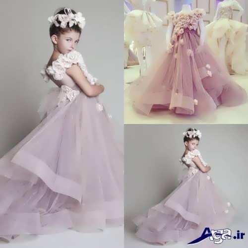 لباس عروس کودک با طرح فانتزی