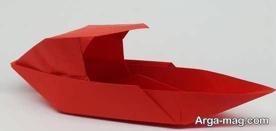 آموزش قایق کاغذی