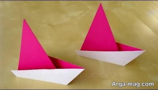 ساختن قایق کاغذی