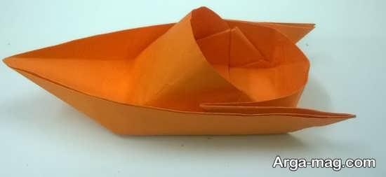 ساختن قایق جت کاغذی