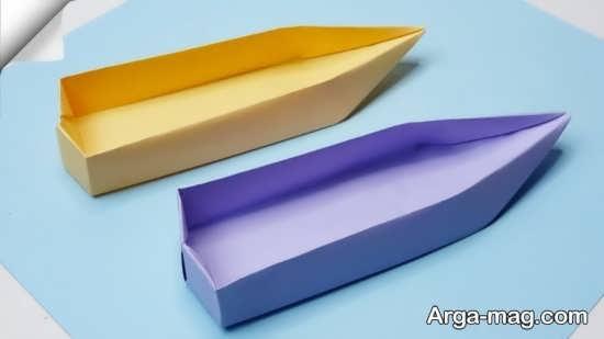 ساخت قایق کاغذی ساده