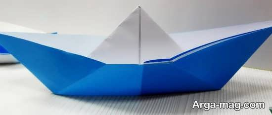 ساختن قایق کاغذی ساده