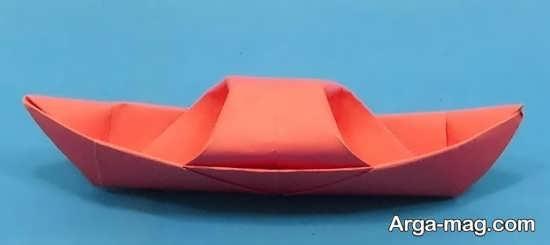 ساختن قایق کاغذی زیبا