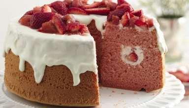 طرز تهیه کیک شیفون در منزل