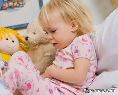 درمان خانگی دل درد کودک