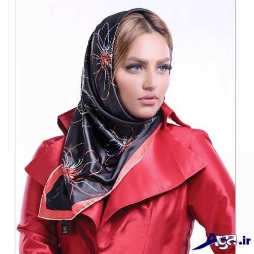 مدل های بستن روسری و شال