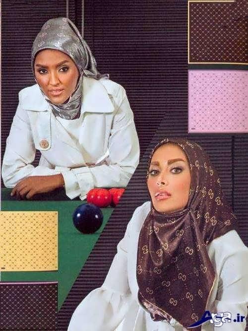 مدل های زیبا بستن روسری