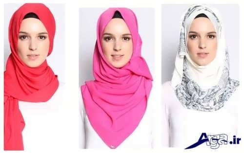 روش های متفاوت برای بستن شال و روسری