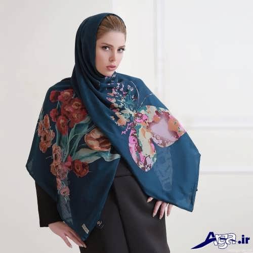 مدل بستن شال و روسری به صورت های زیبا و متفاوت
