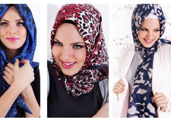 مدل بستن شال و روسری با روش های جدید