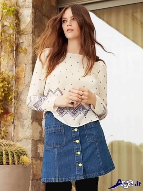 مدل بلوز زیبا دخترانه