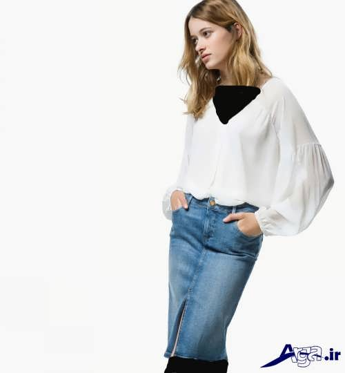 مدل بلوز ساده دخترانه