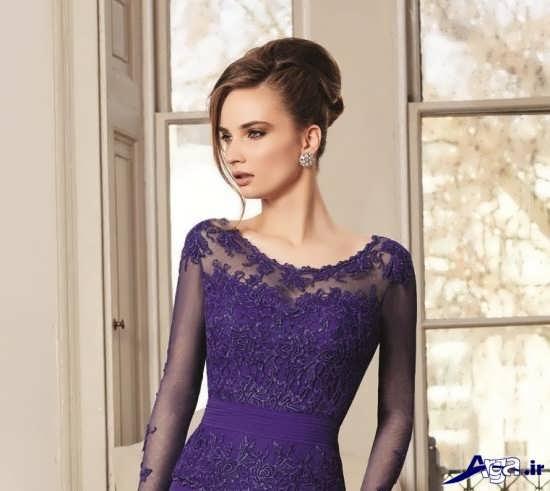 مدل یقه پیراهن بلند زنانه