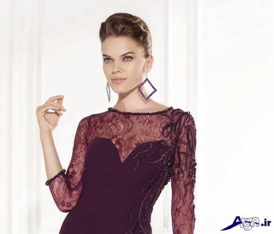 مدل یقه لباس مجلسی زنانه