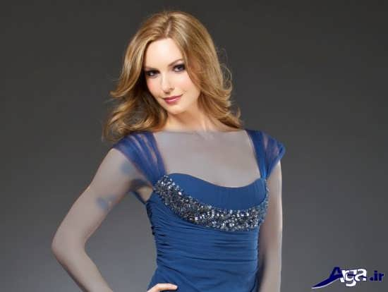 مدل یقه پیراهن مجلسی زنانه