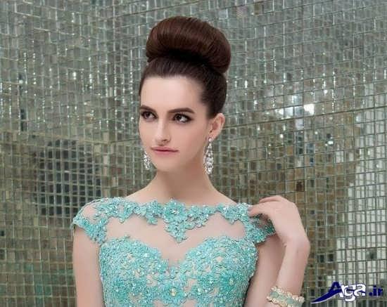 مدل یقه لباس زنانه مجلسی