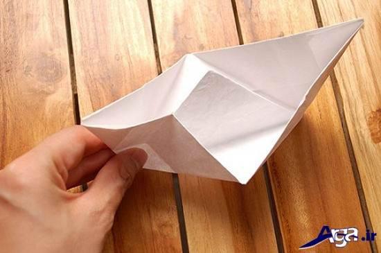 مدل قایق کاغذی برای کودکان