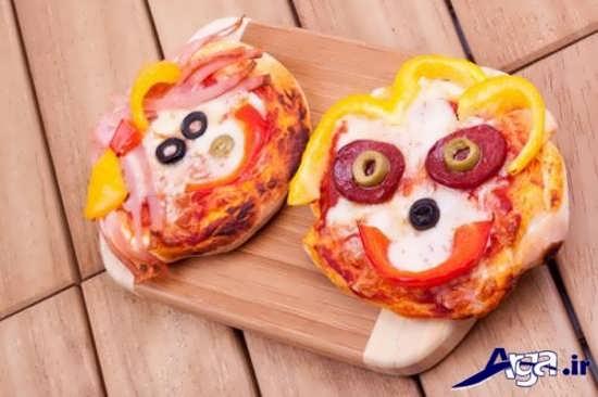 ایده های جالب برای تزیین کردن پیتزا