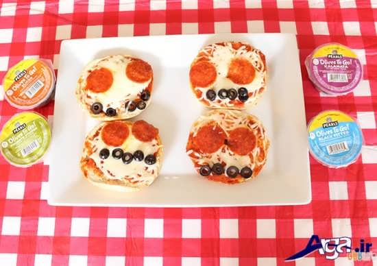 تزیین عروسکی پیتزا