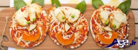 تزیین پیتزا با روش های خانگی