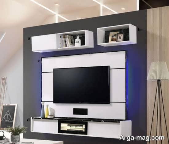 جدیدترین تزیینات دیوار پشت تلویزیون