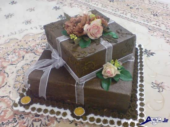 تزیین حنا به شکل کیک چند طبقه