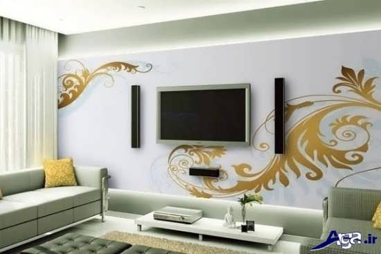 مدل استیکر دیواری برای پشت تلویزیون