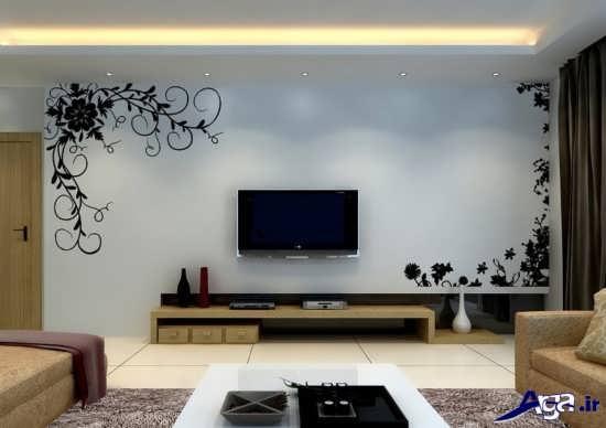 تزیین جدید دیوار پشت تلویزیون