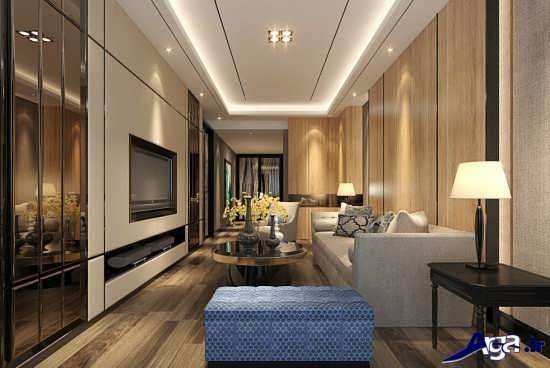 طراحی دکوراسیون سالن پذیرایی منزل