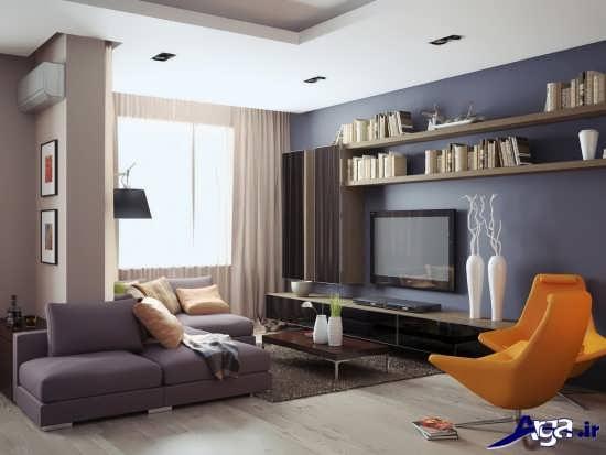 طراحی دکوراسیون پذیرایی منزل
