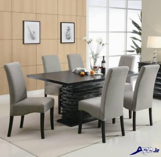 عکس میز غذا خوری جدید و زیبا