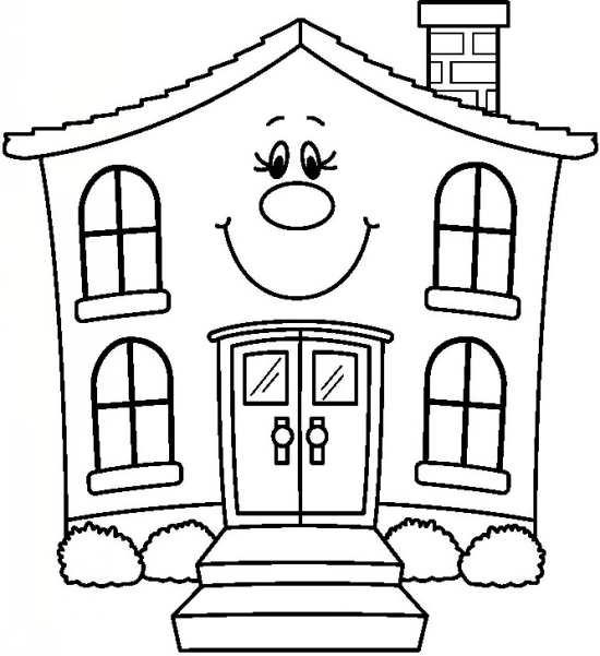نقاشی زیبا خانه